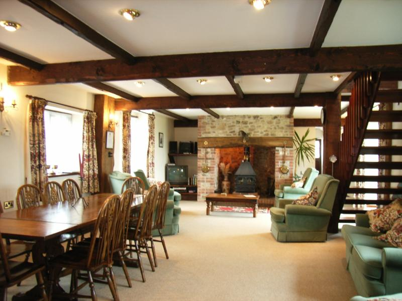 Inside the Lounge - The Granary 4 Star Self Catering Cottage - Colyton - rentals