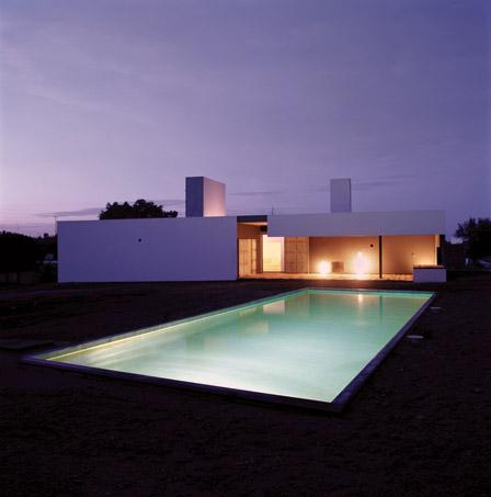 Villa at dusk - Quinta do Evaristo - Évora - rentals