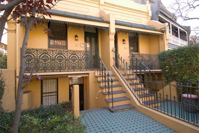 Front Entrance (lower door) - Glenmore Paddington Lower unit. Sydney Australia - Sydney - rentals