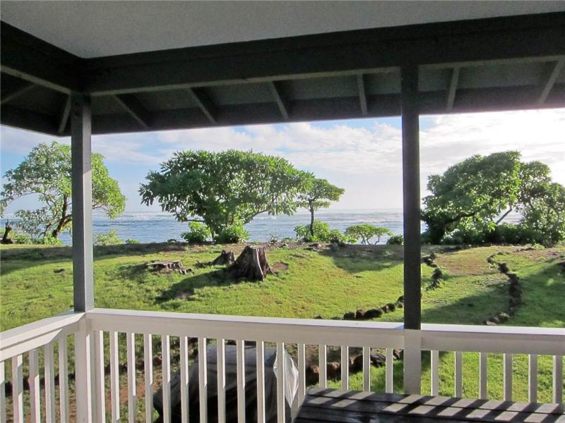 BEACHFRONT Home, AC IN BR, Sunrise Views! - Image 1 - Anahola - rentals