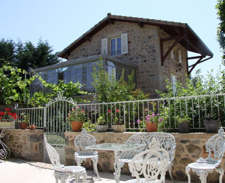 View from Manoir - Luxury 18th century cottage in Burgundy - pool/spa - Saint Leger sous la Bussiere - rentals