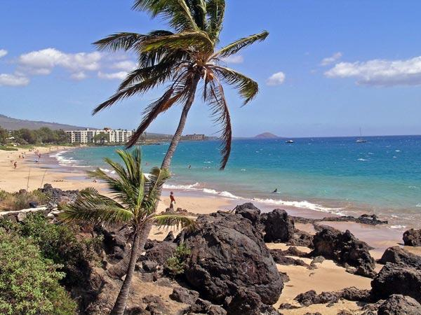 Beach across the street from our condo - *Maui Vista*  Great condo at Affordable Prices - Kihei - rentals