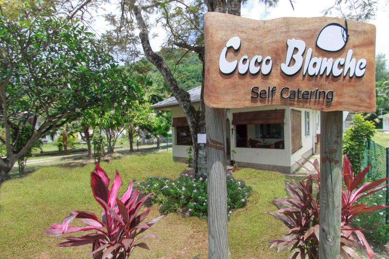 Coco Blanche Self-Catering - Ocean View Villa front facing - Coco Blanche Self Catering Villas - Anse Royale - rentals