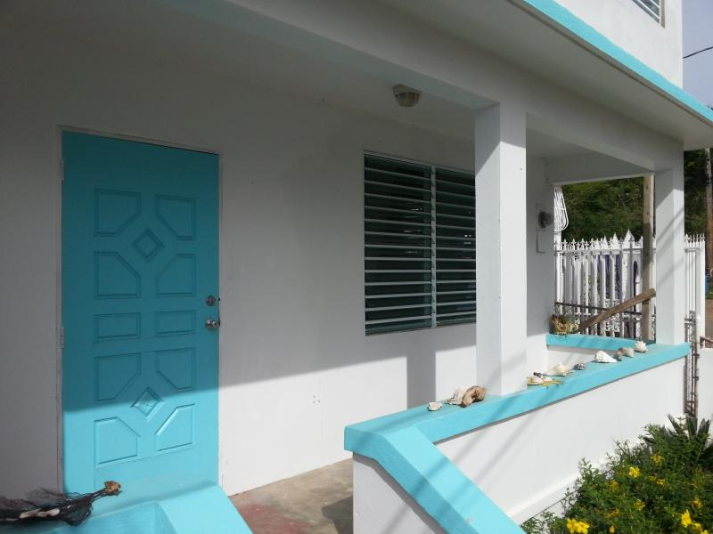 Lower unit front porch - Magdalena Guesthouse - Lower Landing - Vieques - rentals