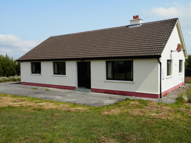 Front view of house - 3 Bedroom house with large garden - Ballinasloe - rentals