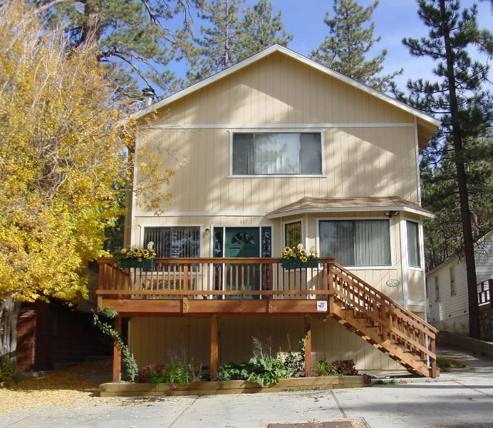 Front, in Spring - Group Getaway in Big Bear - Big Bear Lake - rentals