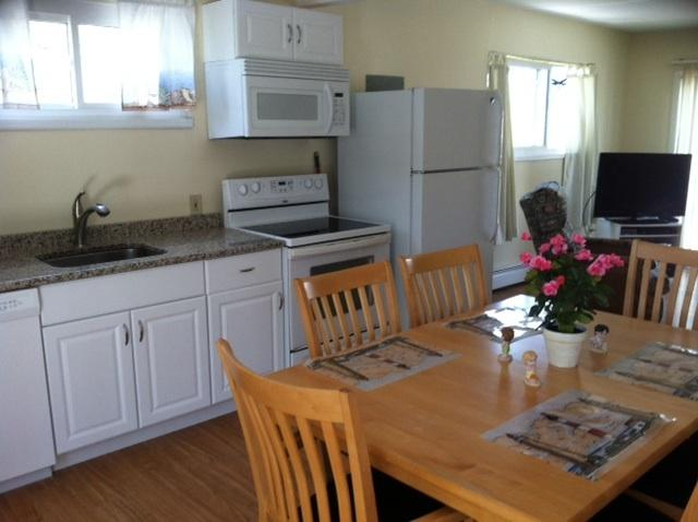 New kitchen- granite countertops - Beach block with ocean views- $1450 week. parking. - Brigantine - rentals