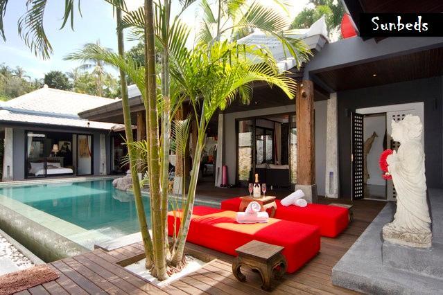 Relaxing on the Pooldeck - LUXURY, DESIGN, BEST LOCATION, BOPHUT HILLS - Bophut - rentals