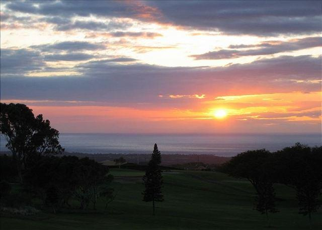 View from Lanai of Sunset - Waikoloa Fairways 2 Bedroom-WF A309 - Waikoloa - rentals
