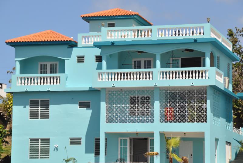 Panaramic Ocean Views Lots of Outdoor Seating - Walk to Ocean, Ocean Sunsets, Private Pool - Rincon - rentals