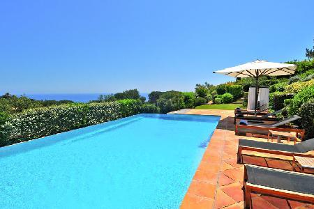 Sea view La Reserve-Villa 11 with private patio, maid service and spa access - Image 1 - Ramatuelle - rentals