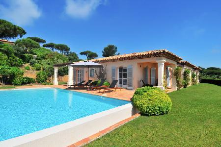 La Reserve-Villa 12 with valet, maid service, private pool and patio - Image 1 - Ramatuelle - rentals