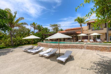 Relax in Infinity Pool at Rancho Manzanillas - Indoor/Outdoor Living at its Best - Image 1 - Punta de Mita - rentals