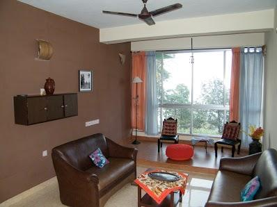 living room 1 - Sea-View fully furnished apartment in south goa - Goa - rentals