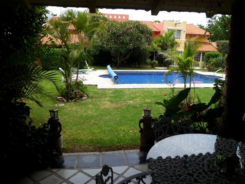 Pool view from patio - Casa Serena Chapala Mexico - Chapala - rentals