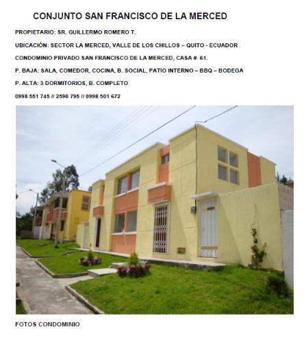 Fachada - Casa para descansar en La Merced, Quito - Ecuador - Quito - rentals