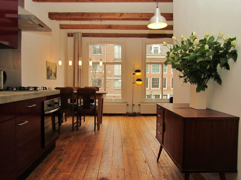 AMS One Bedroom with Canal View in Jordaan - Key 703 - Image 1 - Amsterdam - rentals