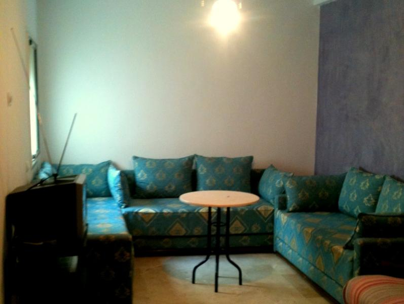 furnished appartment 120m2,in thé city centre. - Image 1 - Fes - rentals