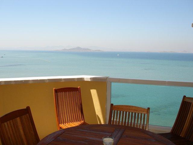 Beautiful sea views, fronline to both beaches! 021 - Image 1 - La Manga del Mar Menor - rentals