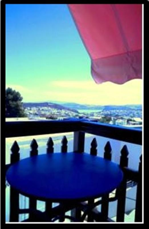 Balcony views - panoramic view balcony apt. in Plaka, max 3 guests - Milos - rentals