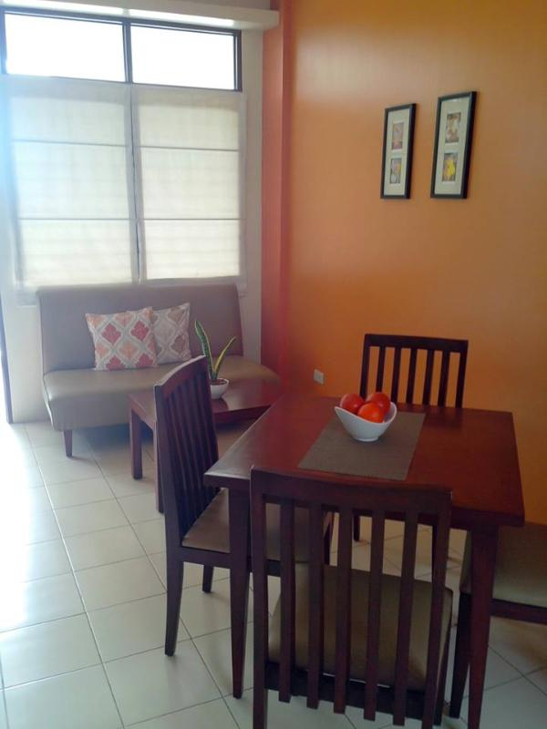Dining Area and Living Area - Apartment for Rent (Lahug, Cebu City, Philippines) - Cebu City - rentals