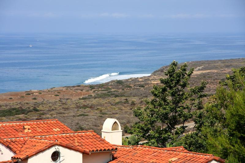 View from Master-Bedroom - Private Mansion on Coast of Crystal Cove - California - rentals