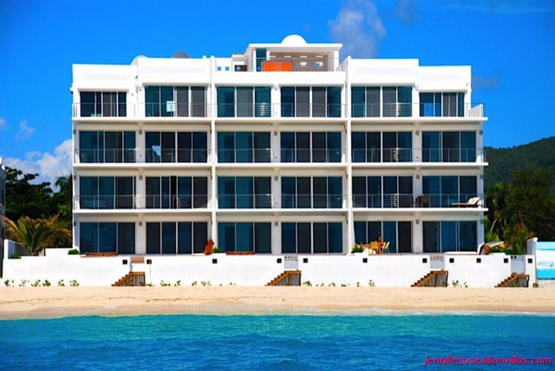 Beachfront, Ideal for Couples & Families, Rooftop Hot Tub, Stunning Views - Image 1 - Simpson Bay - rentals