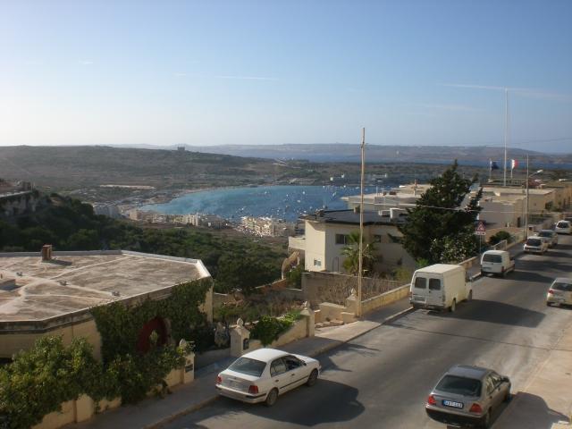 Front Balcony View - Mediterraneon Sea-view Apartment Sleeps 4 - Mellieha - rentals