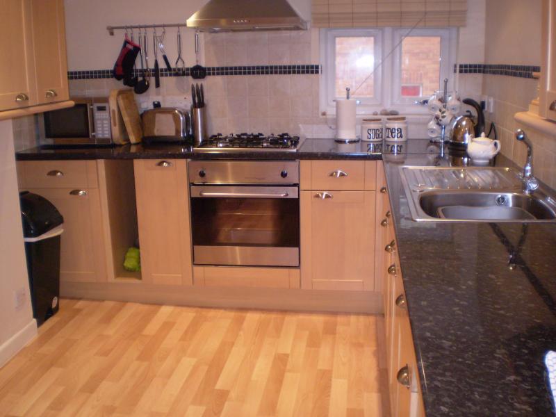 Kitchen/diner - Budleigh Salterton Holiday Flat - Budleigh Salterton - rentals