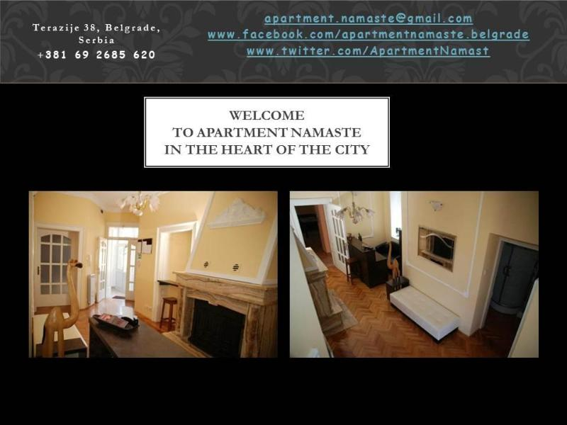 Welcome to the apartment Namaste in the heart of the city of Belgrade - Apartment Namaste Belgrade - Belgrade - rentals