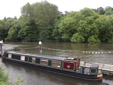 Wee Dram 57' Narrowboat on the Scenic River Thames in Surrey or Royal Berkshire - Narrowboat on the Scenic River Thames West London - Shepperton - rentals