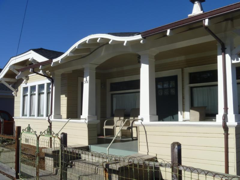 Front of Seabright Beach  Bungalow - Seabright Beach Bungalow - Santa Cruz - Santa Cruz - rentals