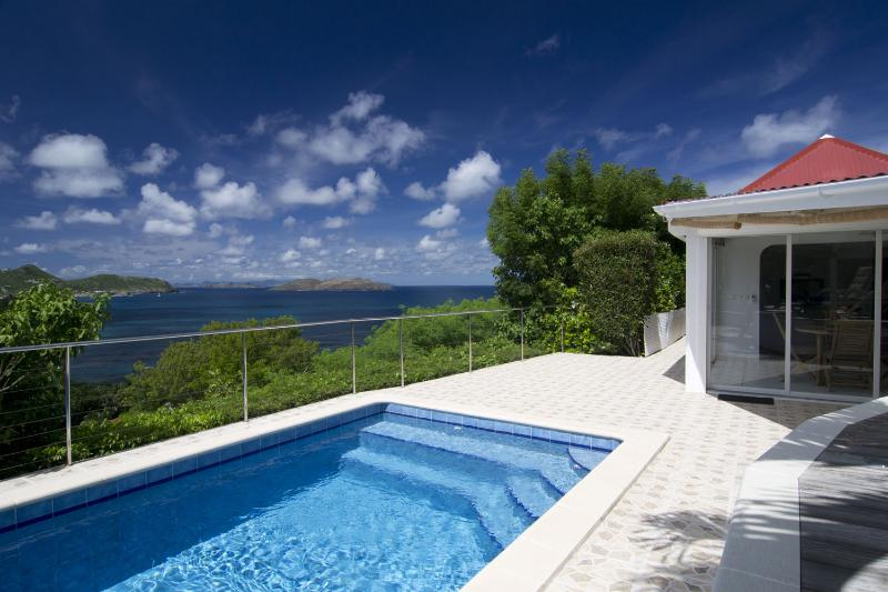 Swimming pool/sea view - Villa Coral - Saint Barts - Camaruche - rentals