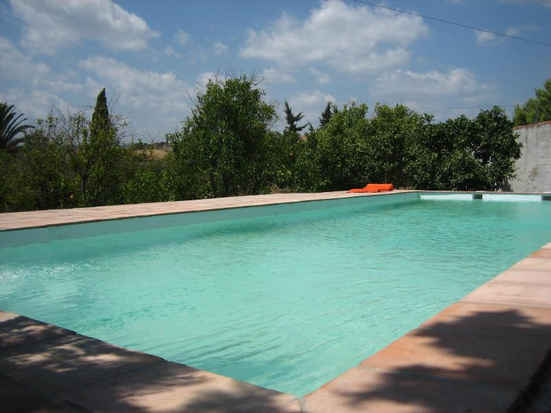 Swimming pool - Charming rustic cottage set in an orange grove - Jimena de la Frontera - rentals