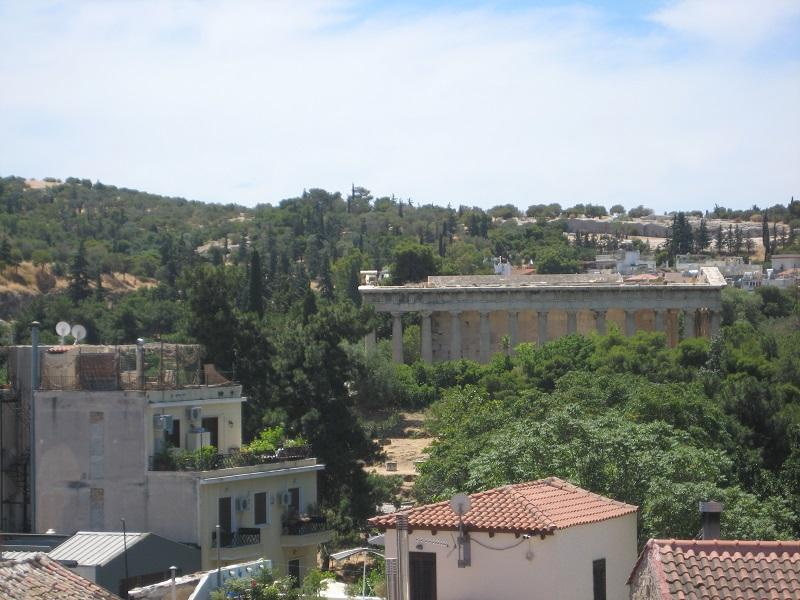 View from top balcony - Stay in the historical centre of the city - Athens - rentals