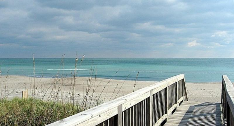 Deck view - Oceanfront Beach House Emerald Isle North Carolina - Emerald Isle - rentals