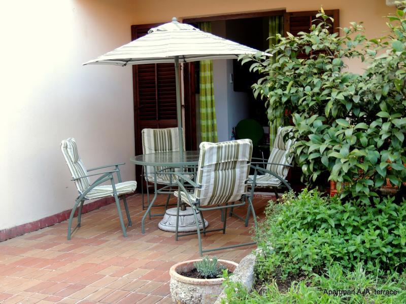 Terrace in AJA - Apartment AJA in Rovinj, Croatia near beach for 2-3 people! - Rovinj - rentals