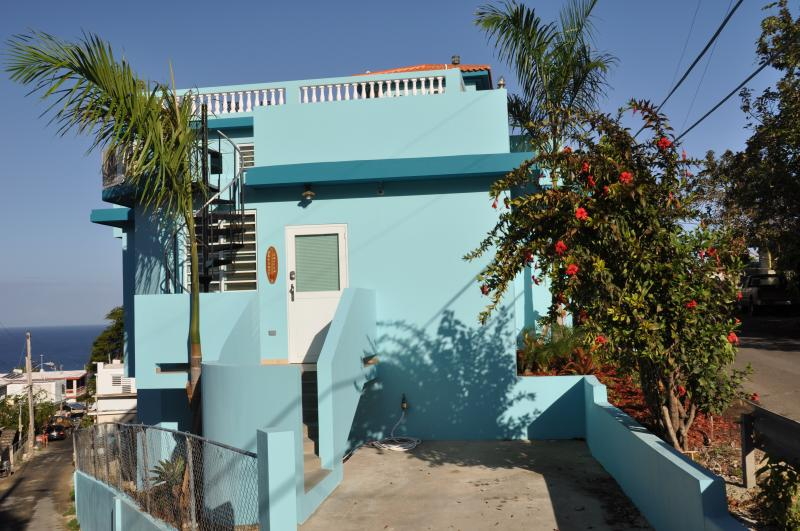 Clean, Safe, Great Location, Sunset Ocean Views, Roof Top Deck - Beautiful Ocean Sunset Views, Puntas, Walk 2 Beach - Rincon - rentals