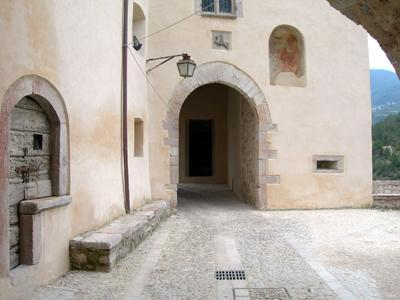 View of the Village - Umbria Valnerina Fine House in  Middle Age Village - Sant'Anatolia di Narco - rentals