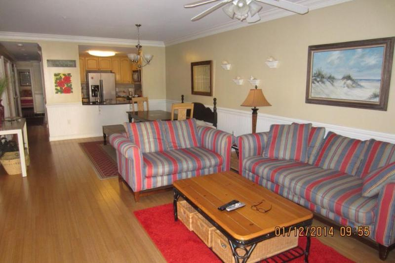 living room - luxurious villa,just steps to the ocean - Tybee Island - rentals