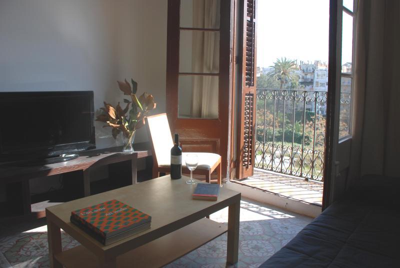 Comedor y terraza - Consell de cent 2 - Barcelona - rentals