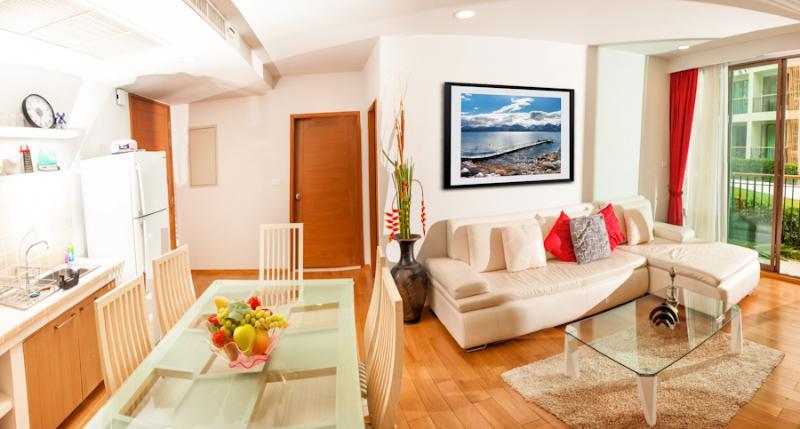 Living Room - Baan Sansuk Luxury Beach Service Apartment Hua Hin - Hua Hin - rentals
