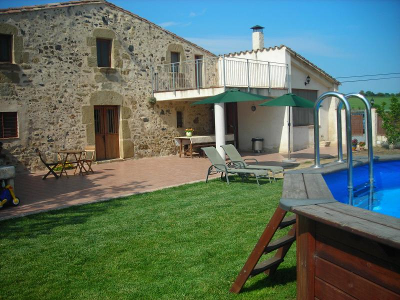 Holiday home Cal Sastre de Cartellà in Vall de Llémena - Typical Holiday cottage in Catalonia  BQ Pool WIFI - Sant Gregori - rentals