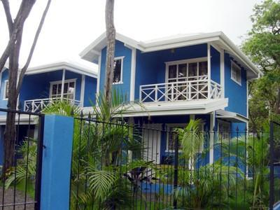 The cabins-distintive blue color - Tamarindo Cabins #4---5 minute walk to beach! - Tamarindo - rentals