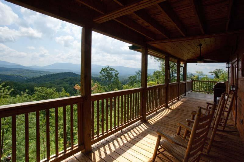 Awesome views from all the deck areas - Endless View - Ellijay GA - Ellijay - rentals
