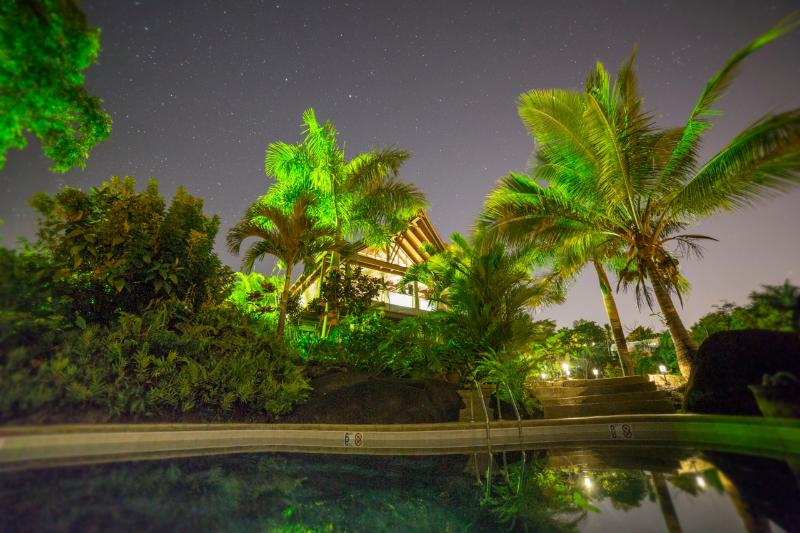 El Yunque Chalet at Night - El Yunque Chalet - Your Rainforest Home! - Rio Grande - rentals
