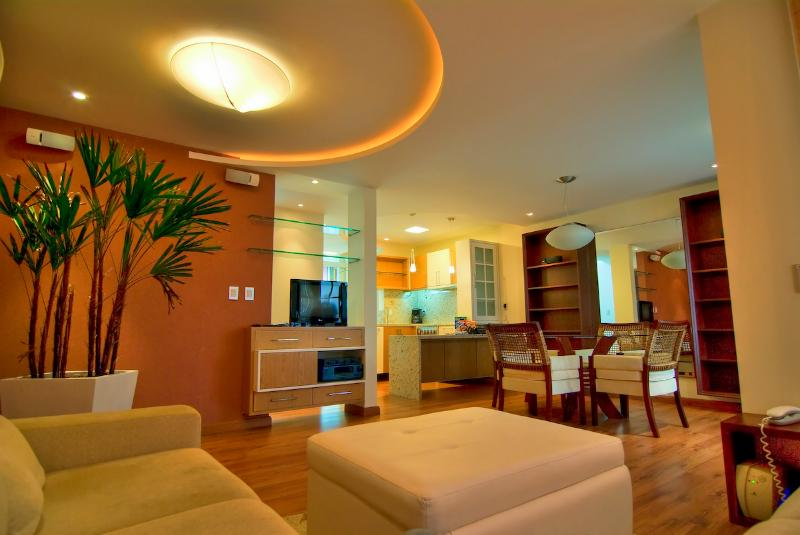 Living Room - A beautiful 2 bed/2 bath Townhome at Praia Mole! - Florianopolis - rentals