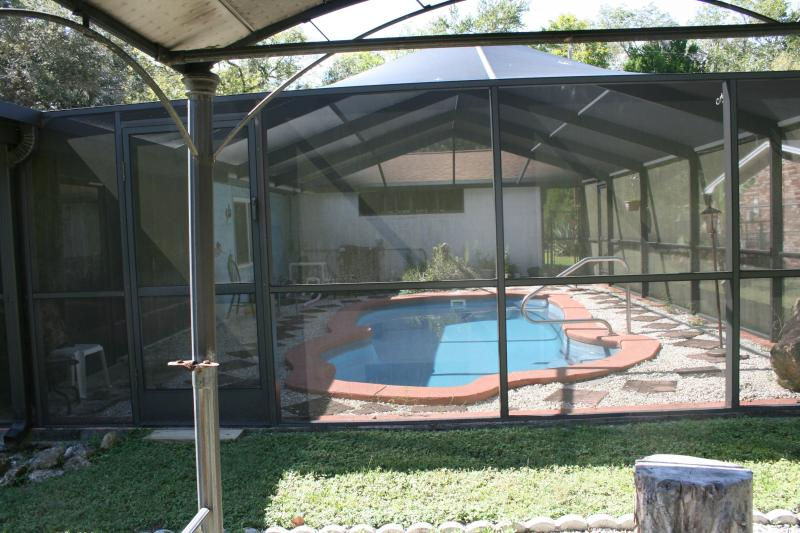 Heated Inground Pool - CRYSTAL RIVER FLORIDA on canal, inground heat pool - Crystal River - rentals
