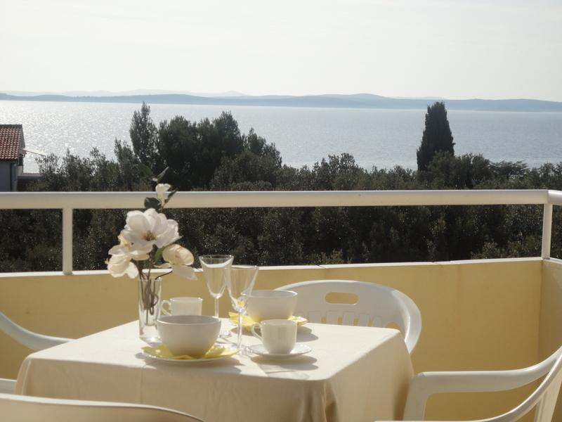 Apartment Petrcane great sea view!!! - Image 1 - Petrcane - rentals