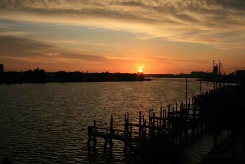 Sunset from the balcony - WELCOME HOME TO CLEARWATER BEACH ISLAND RETREAT! - Clearwater - rentals